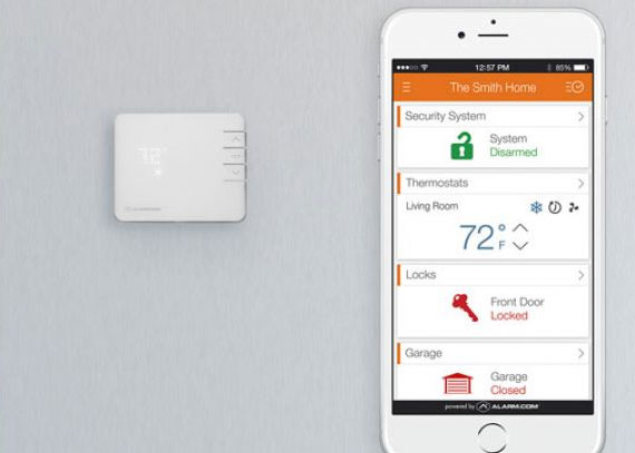 Smart Thermostats from Vault Home Automation and Security