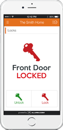 Smart Home Lock Phone App