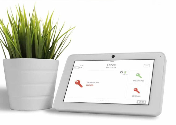Smart Home Security Control Panel by Vault